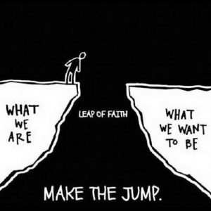 make the jump leap of faith